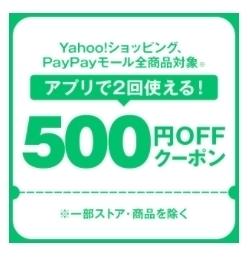 ヤフーショッピング 【対象者限定】2回使える500円OFFクーポン.jpg