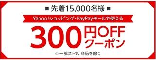 ヤフーショッピング 対象者限定 300円OFFクーポン.jpg