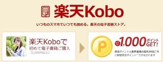 楽天kobo スタートボーナスチャンス.jpg
